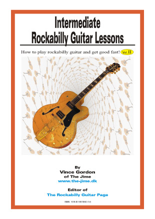 Intermediate Rockabilly Guitar Lessons, Vince Gordon - Vince Gordon